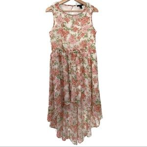Forever 21 High-Low Floral Dress - Small